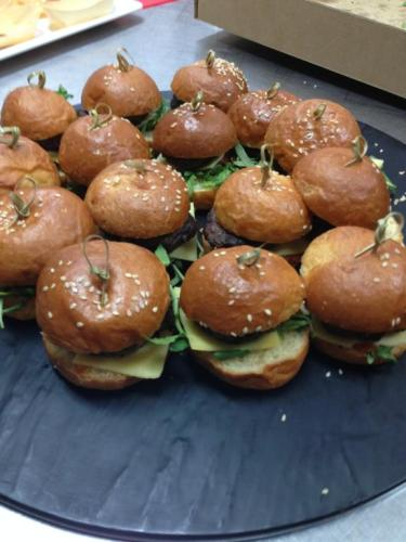 Pork and Beef Brioche Sliders