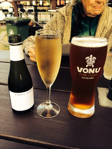 Drinks to start with.  Unfortunately, the Vonu is not available but the glasses are!