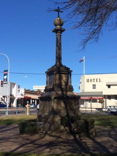 The War Memorial in Bowral