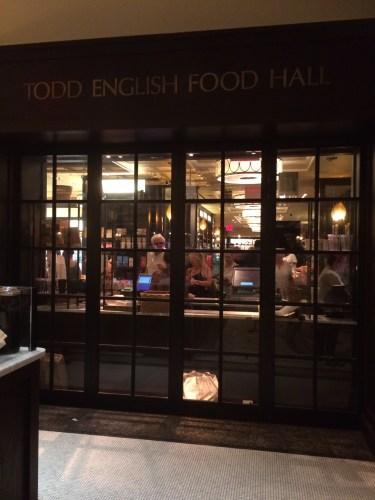 Todd English Food Court, Plaza Hotel