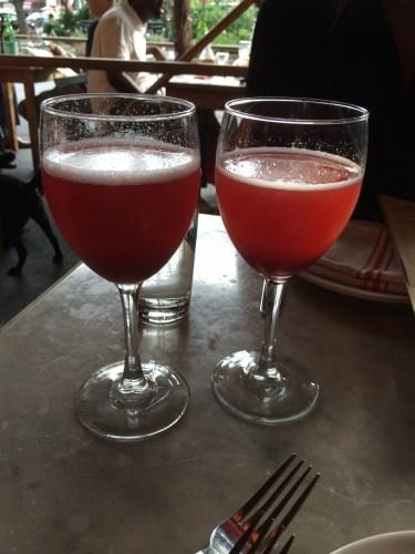 Lamponi, Raspberry Prosecco Cocktail $11.00