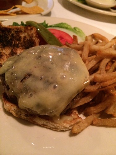 Hamburger with French Fries $14.00