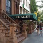 Joe Allen, New York