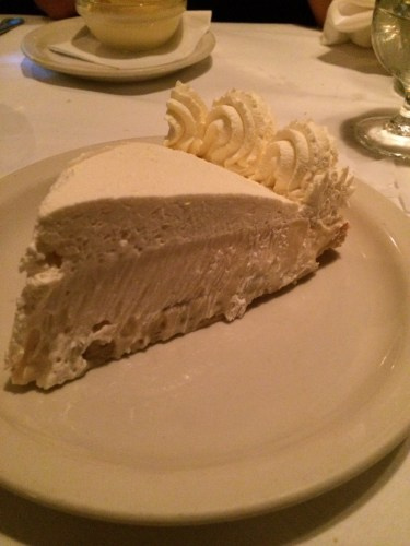 Banana Cream Pie:  $9.00
