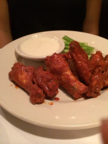 Buffalo Wings:  $11.00