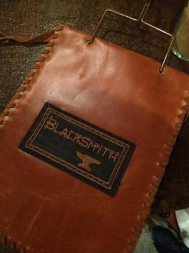 Leather menu