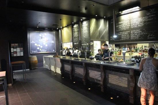 The marble bar