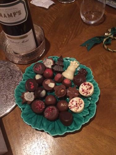 Lovely chocolates