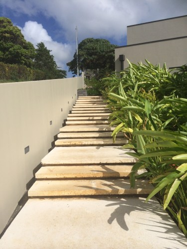 And a few more stairs.