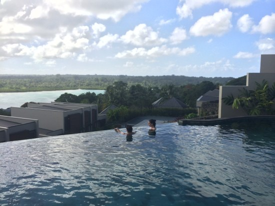 Just love an infinity pool.