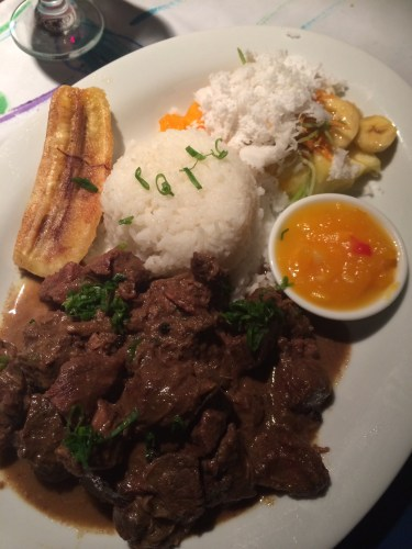 Beef Curry:  2850 vt ($32.00)
