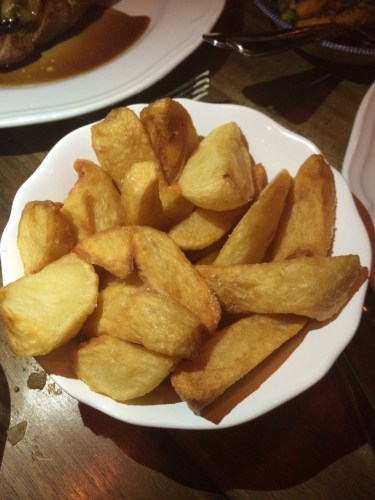 Fries:  $8.00