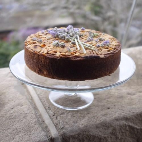 A dessert cake