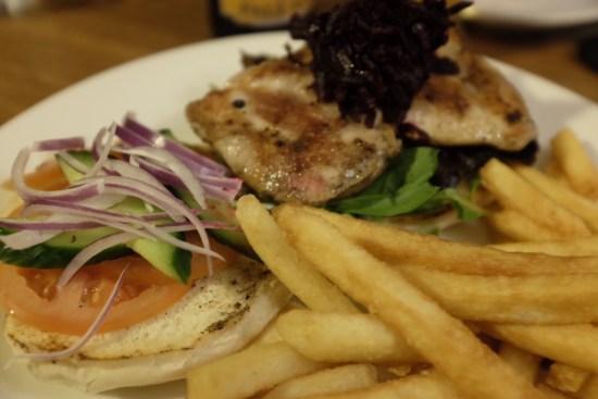 Katoomba Burger:  $17.90