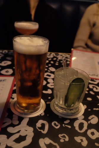 Redstripe Beer: $7.00 and a Hendricks gin and tonic