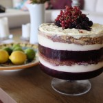 Boysenberry and Mascarpone Trifle