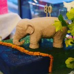 How to Make an Elephant Cake