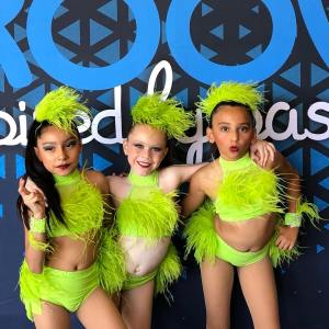 Custom Dance Costume bases 2 piece for trio