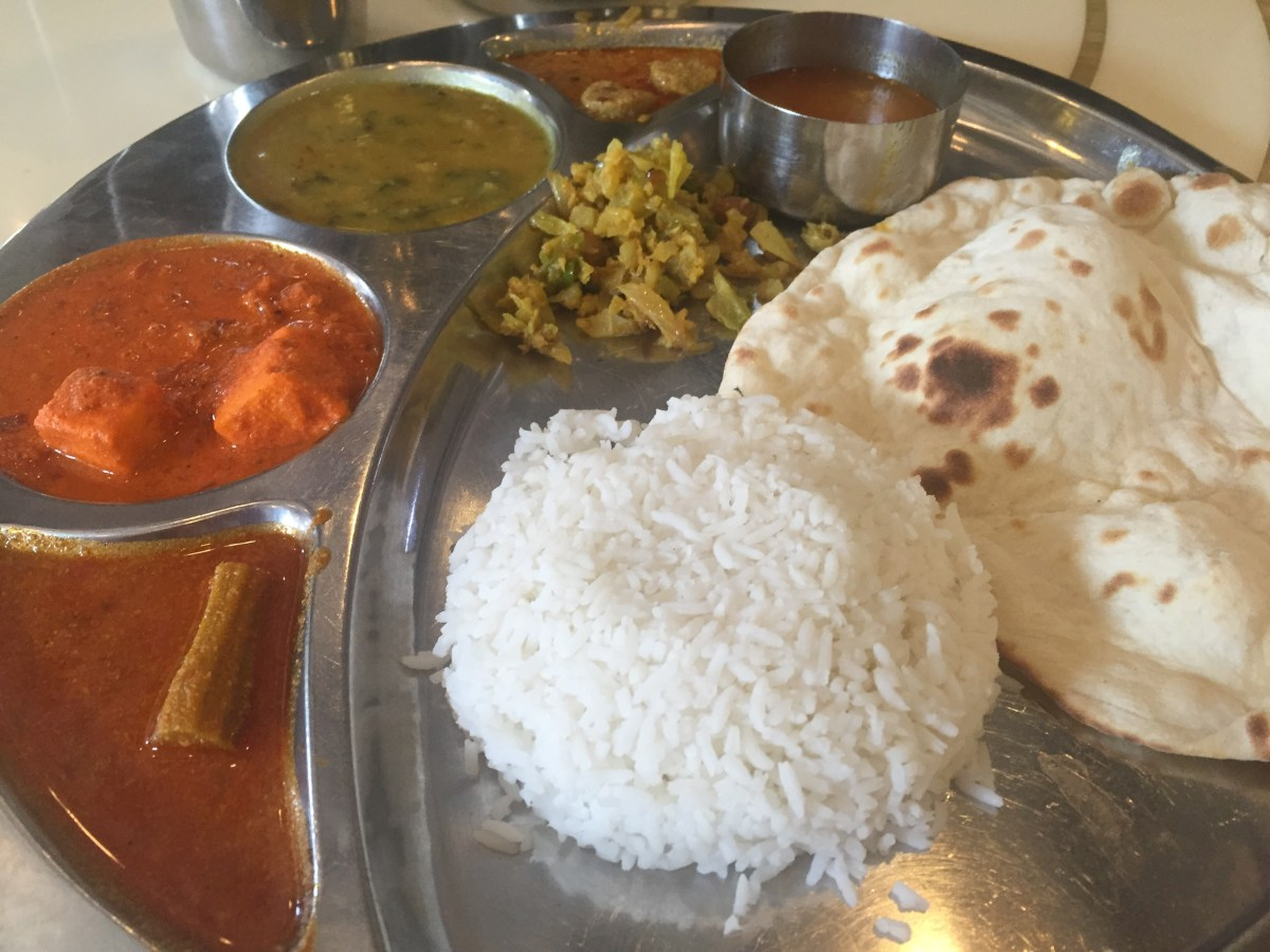 Indian curry from little india