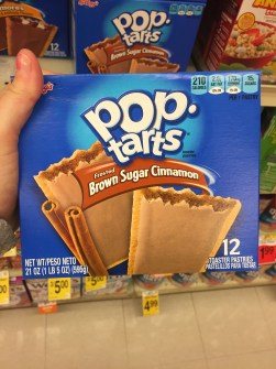 poptart brown sugar american breakfast