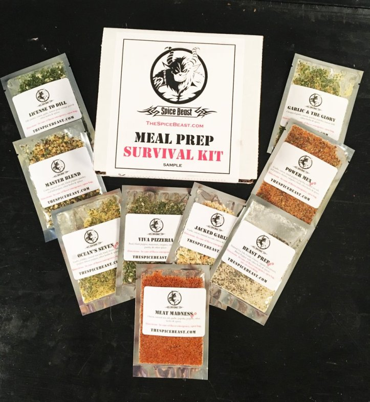 meal prep survival kit
