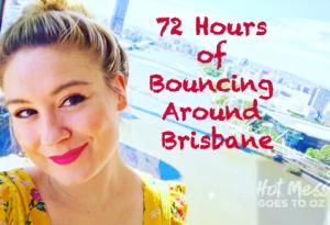 Girl on the Brisbane Wheel