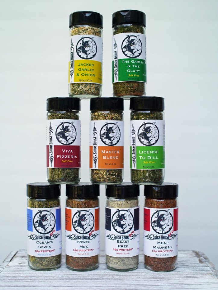 Spice beast spice mixes