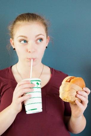 Habit of not sharing food