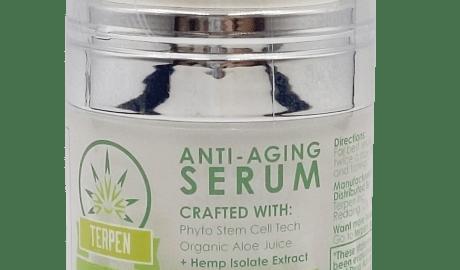 anti aging serum, terpen, wrinkles, cbd for wrinkles