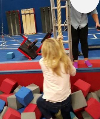 kid's birthday, gymnastics, mommy son time