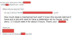 mechanical bull e-mail