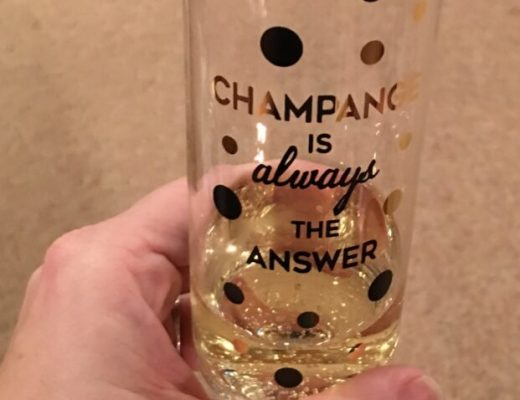 New Years Resolution Champagne