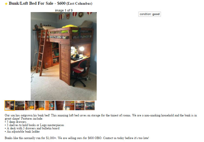 craigs list post