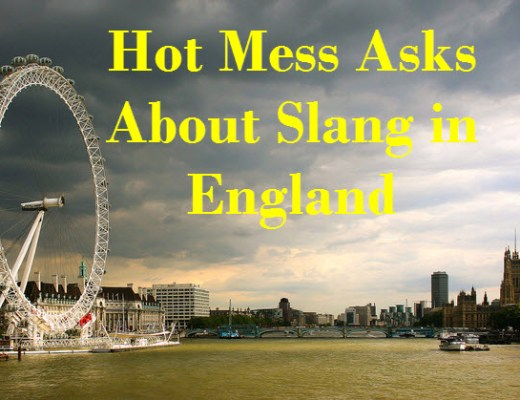 Slang In England