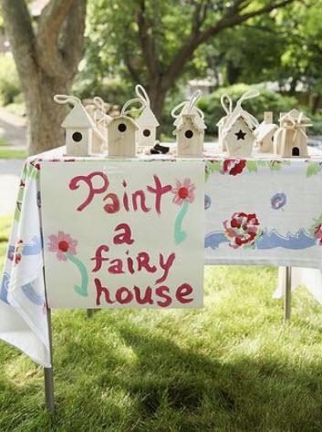 Paint a Fairy House