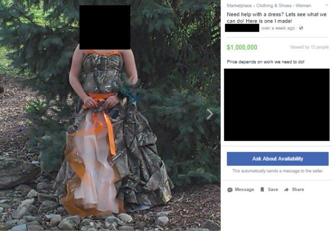 horrible dress
