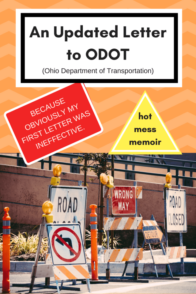 Updated letter to odot