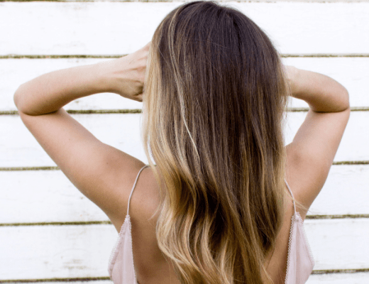 4 hair care products