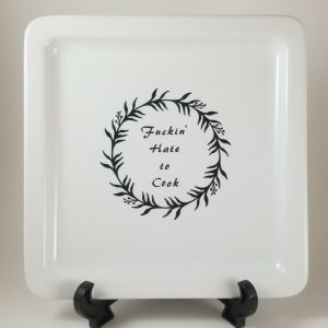 hate to cook plate