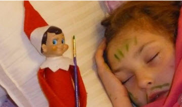 passed out first elf