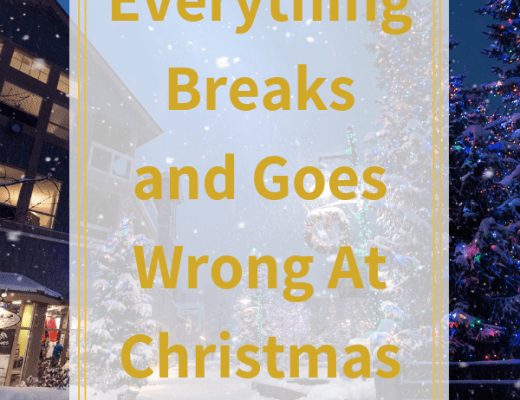 Everything breaks at Christmas