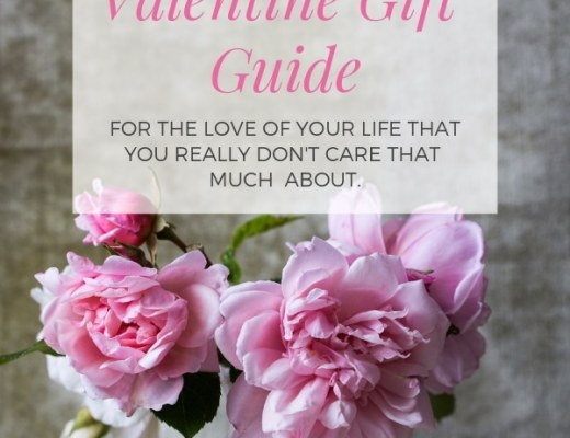 Crappy Valentine Gift Guide