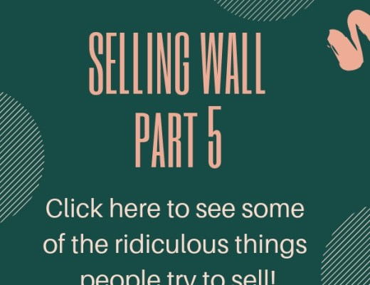 Facebook Selling Wall