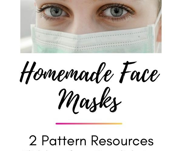 Homemade Face Masks- 2 Pattern Resources