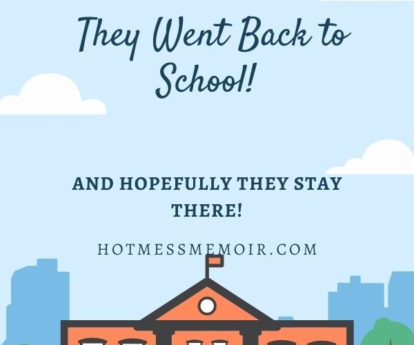 Miracles Do Come True- They Went Back to School