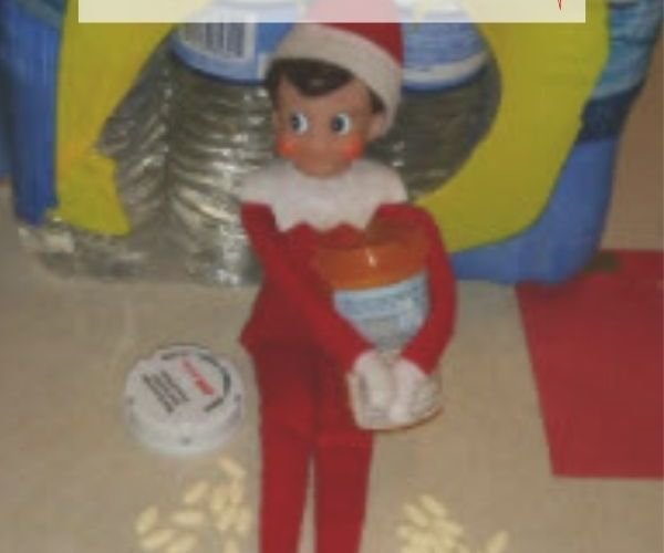 The F'ing Elf on the Shelf Strikes Again