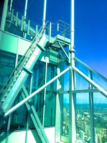 SkyPoint Observation Deck for Hot & Delicious: Rocks The Planet