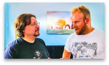Comedy Film Nerds' Chris Mancini discusses exciting new fantasy, comedy graphic novel with Dan Wilkinson from Hot & Delicious: Rocks The Planet!