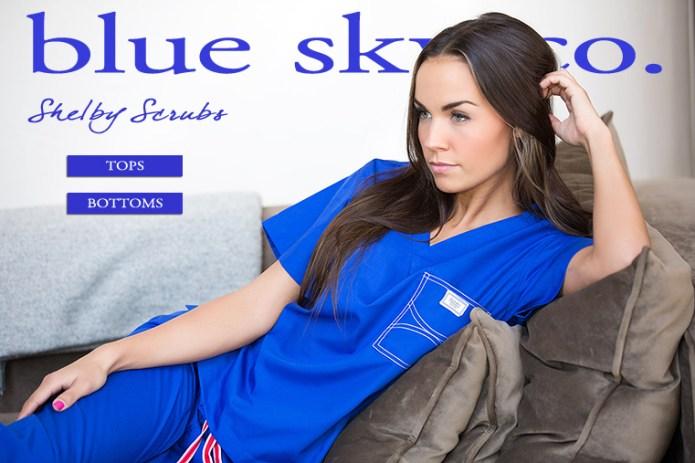 Scrubs - Women's Scrubs - blue sky Classic - blue sky Classic ...