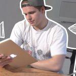 GIMP Schrift umranden und vom Hintergrund abheben!